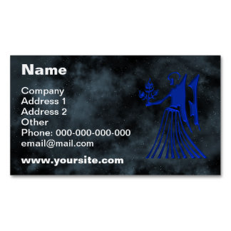Virgo Magnetic Business Card