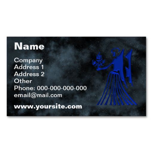 Virgo Magnetic Business Cards Pack 25