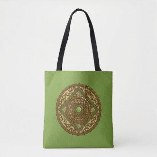 Virgo Mandala All-Over-Print Bag