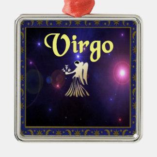 Virgo Metal Ornament