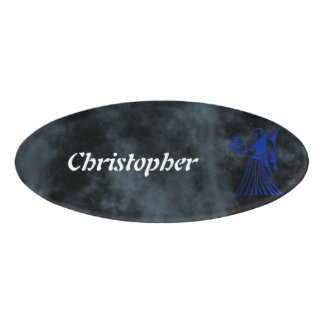 Virgo Name Tag