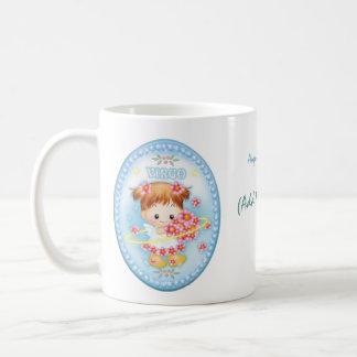 Virgo - Personalised Zodiac Mug