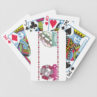 Virgo Pisces friendship design by Valxart Bicycle Playing Cards