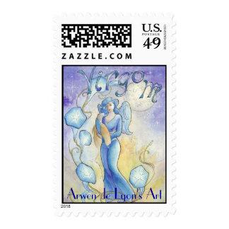 Virgo Postage Stamp