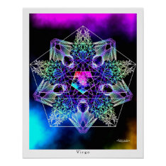 Virgo Poster at Zazzle