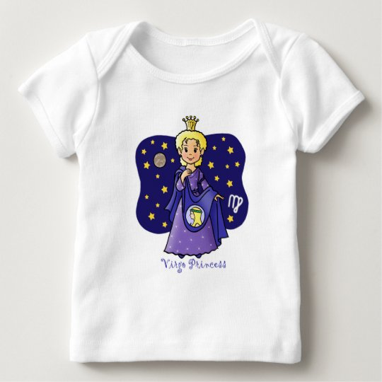 Virgo Princess Baby T-Shirt
