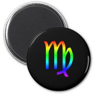 Virgo Rainbow Magnet