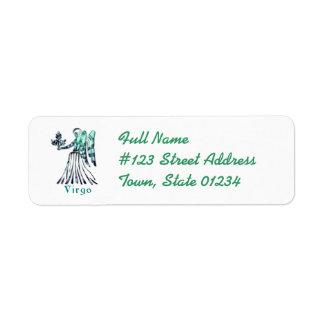 Virgo Return Address Labels