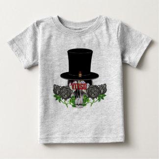 Virgo Skull Baby T-Shirt