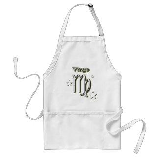 Virgo symbol adult apron