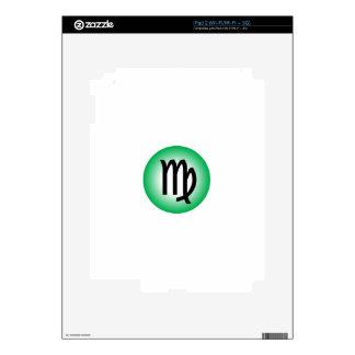 VIRGO SYMBOL DECAL FOR THE iPad 2