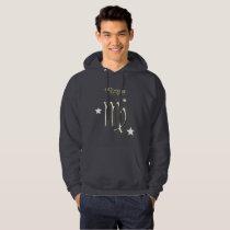 Virgo symbol hoodie