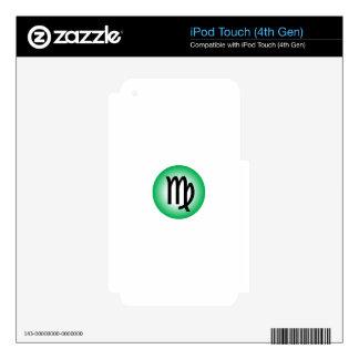 VIRGO SYMBOL SKIN FOR iPod TOUCH 4G