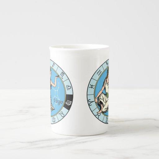 virgo taza de porcelana
