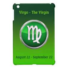 Virgo - The Maiden Astrological Sign iPad Mini Case