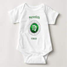 Virgo - The Maiden Zodiac Sign Baby Bodysuit