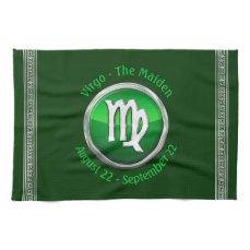 Virgo - The Maiden Zodiac Sign Hand Towels