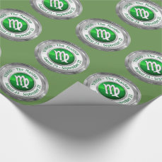 Virgo - The Maiden Zodiac Sign Wrapping Paper