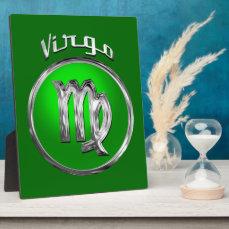 Virgo - The Maiden Zodiac Symbol Plaque