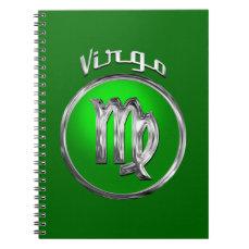 Virgo | The Virgin Zodiac Sign Spiral Notebook