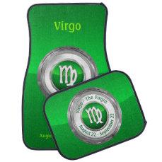 Virgo - The Virgin's Zodiac Symbol Car Floor Mat