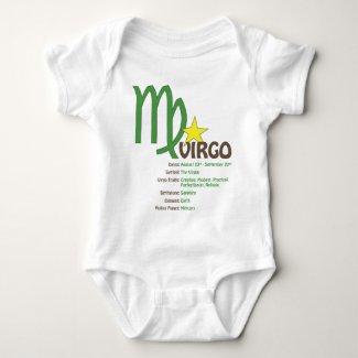 Virgo Traits Baby Baby Bodysuit