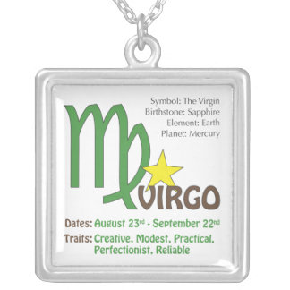 Virgo Traits Necklace