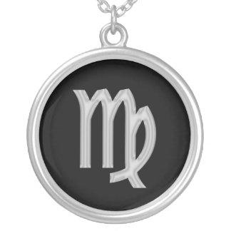 Virgo Zodiac Astrology Necklace