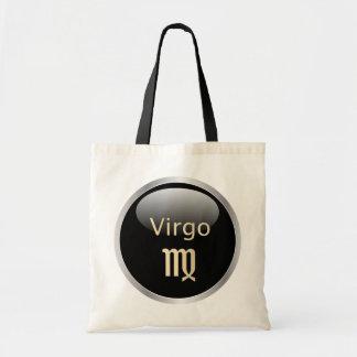 Virgo zodiac astrology star sign tote bag