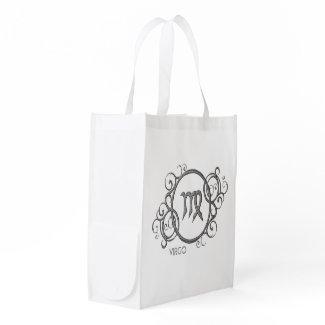Virgo Zodiac Design Grocery Bag