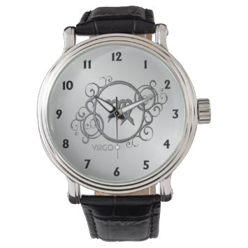 Virgo Zodiac Design Wrist Watch