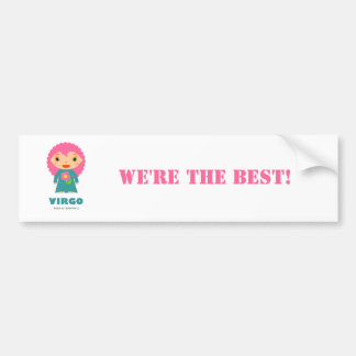 Virgo Zodiac for Kids Bumper Stickers