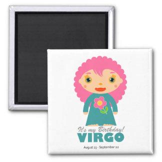 Virgo Zodiac for Kids Magnet