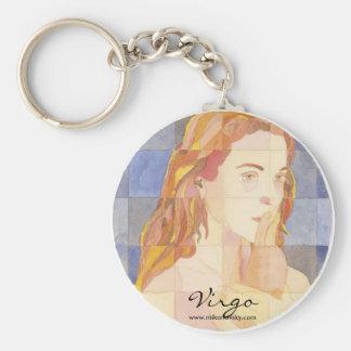 Virgo Zodiac Keychains