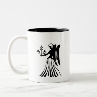 Virgo Zodiac Pictogram Mug