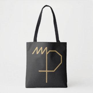 Virgo Zodiac Sign Basic Tote Bag