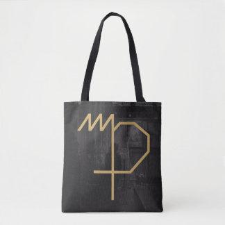 Virgo Zodiac Sign | Custom Background Tote Bag