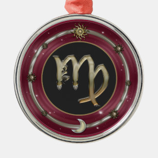 Virgo Zodiac Sign Christmas Tree Ornament