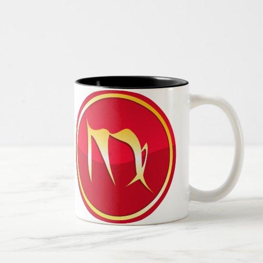 Virgo - Zodiac Signs Two-Tone Coffee Mug