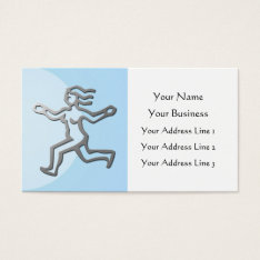 Virgo Zodiac Star Sign In Light Silver Business Card at Zazzle