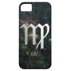 Virgo Zodiac Star Sign On Universe Iphone Se/5/5s Case at Zazzle