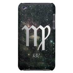 Virgo Zodiac Star Sign On Universe Ipod Touch Case-mate Case at Zazzle