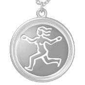 Virgo Zodiac Star Sign Premium Silver necklaces