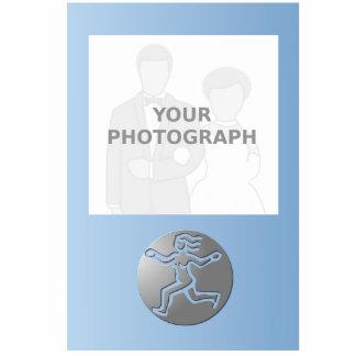 Virgo Zodiac Star Sign Premium Silver Standing Photo Sculpture