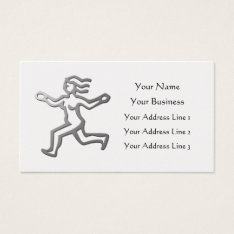 Virgo Zodiac Star Sign Silver Platinum Bookmark Business Card at Zazzle