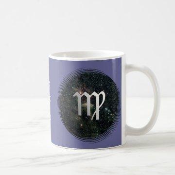Virgo Zodiac Star Sign Universe Coffee Mug at Zazzle