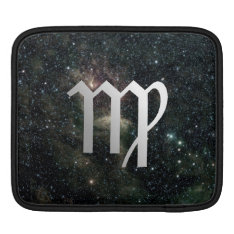 Virgo Zodiac Star Sign Universe Ipad Sleeve at Zazzle