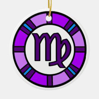 Virgo Zodiac Symbol Ornament