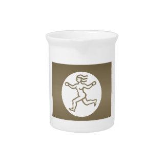 VIRGO -  ZODIAC Symbol Drink Pitchers