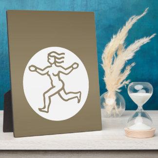 VIRGO -  ZODIAC Symbol Plaque